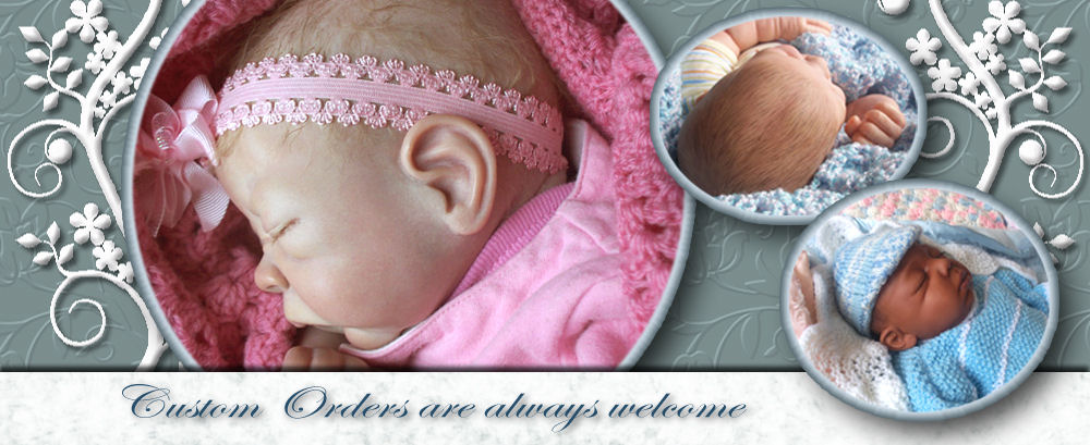 Order a custom made reborn baby doll